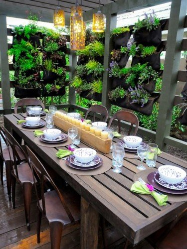 Outdoor Dining Table For Great Summer Outdoor