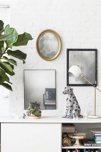 create your own antique mirrors