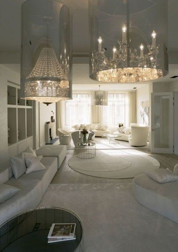 luxury rooms have a great sense of space