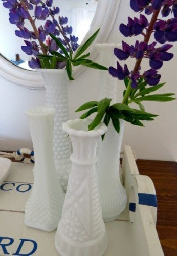 garage sale vase find