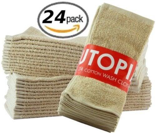 cotton mop up towels