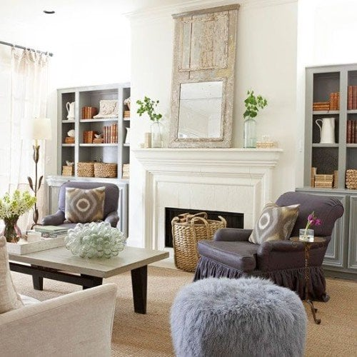 Is white paint still the best wall color living room for White wall living room ideas