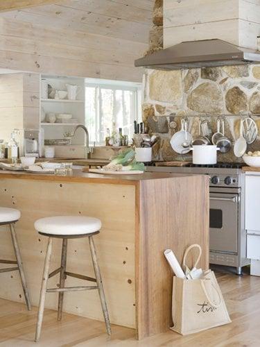 Kitchen countertop ideas optionsdecorated life for Country kitchen countertop ideas