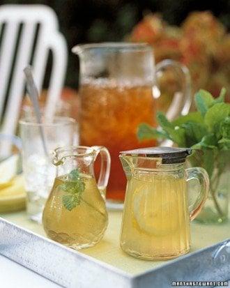infused iced tea syrups