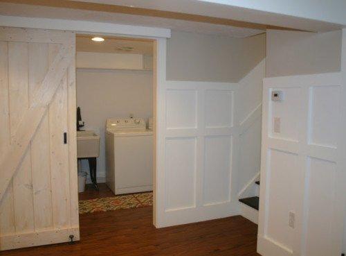 laundry room conversion