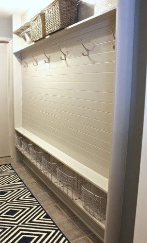 mudroom from hallway