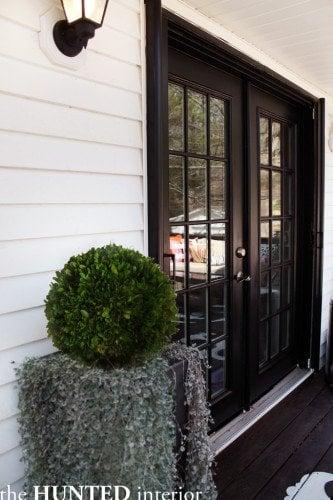Patio doors styling make your patio door look for Patio doors for front of house