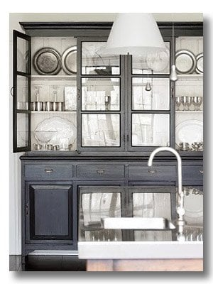 black dining room china cabinet
