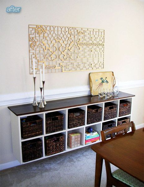 20 Dining Room Hutch, Cabinets, Shelves + Buffet Ideas