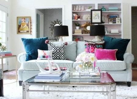 How To Choose A Couch 5 fall sofa slipcovers, sofa throws + cushion ideas for fall