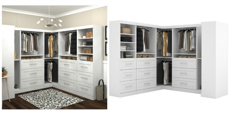storage wardrobe kit