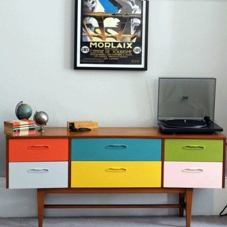 19 Trending Retro Furniture Makeovers Decorated Life