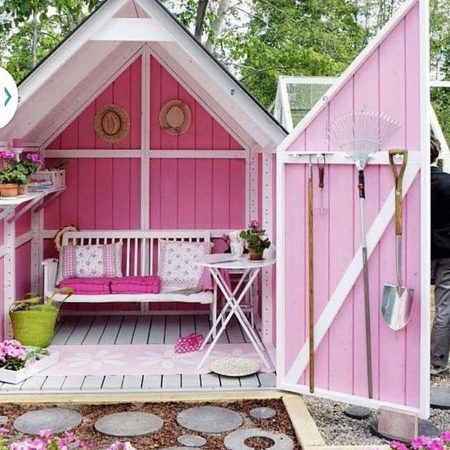 pink she shed