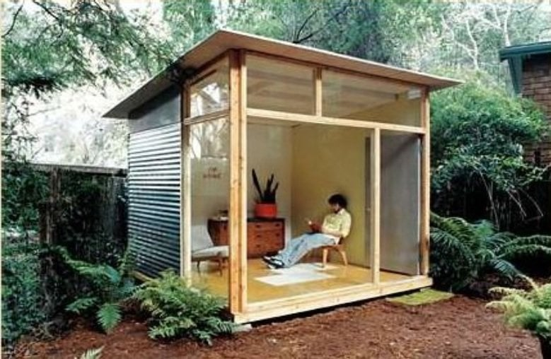 Outdoor Office Shed Plan