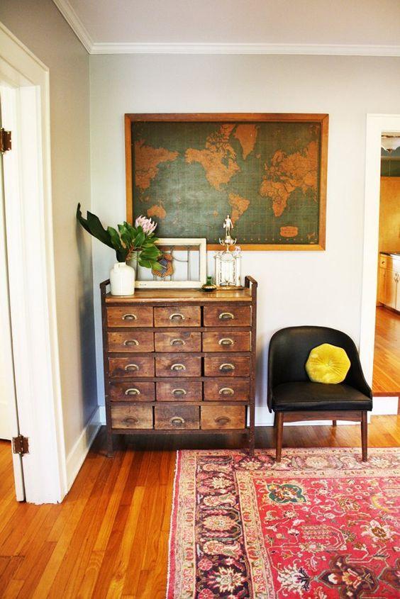 Coastal Eclectic Bedroom