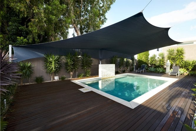 shade sail for backyard