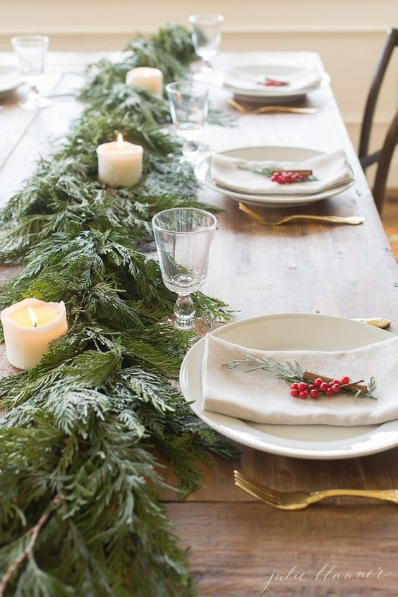 The best Christmas table decor ideas that