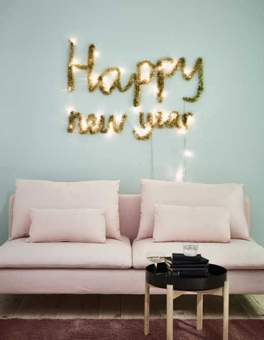 new year wall decorations