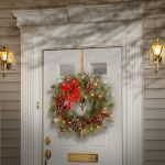 Christmas Wreath and Front Door Christmas Decorations