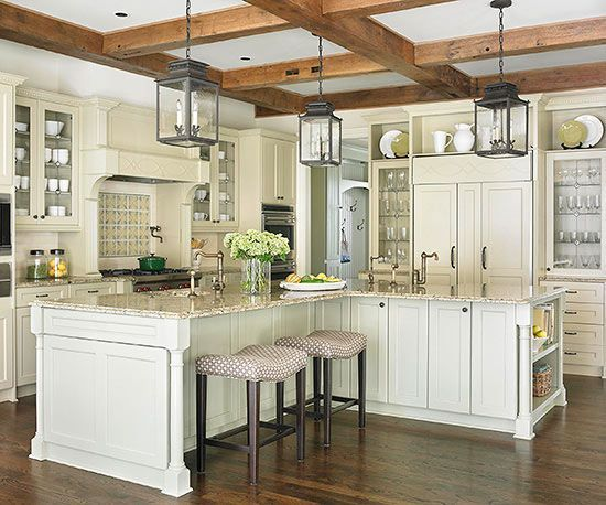 kitchen l shaped island 12 things about choosing a kitchen island decorated life 6438