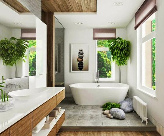 2019 spa Modern Bathroom Design