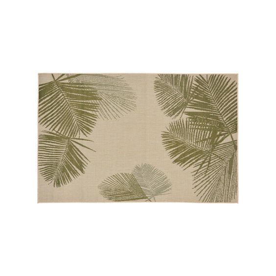 Liora Manne Terrace Palm Indoor Outdoor Rug, Green
