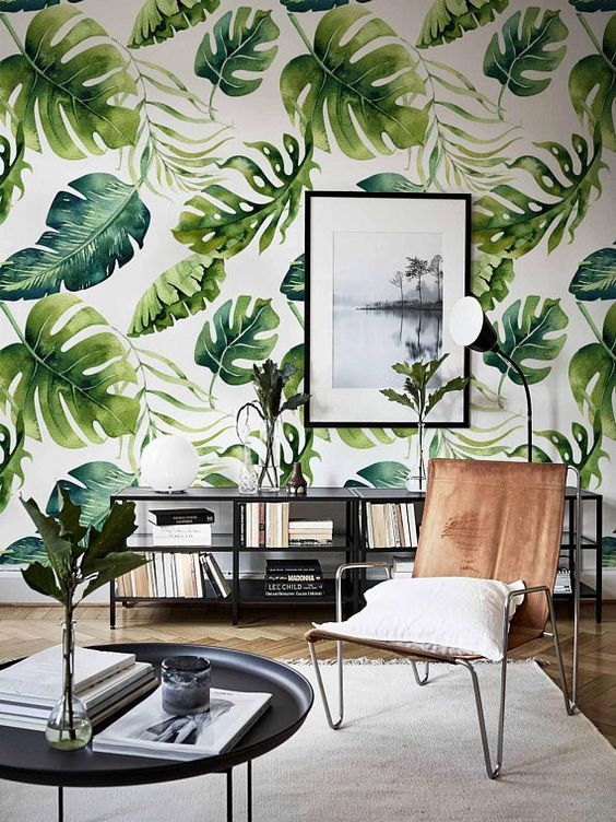 Removable wallpaper mural