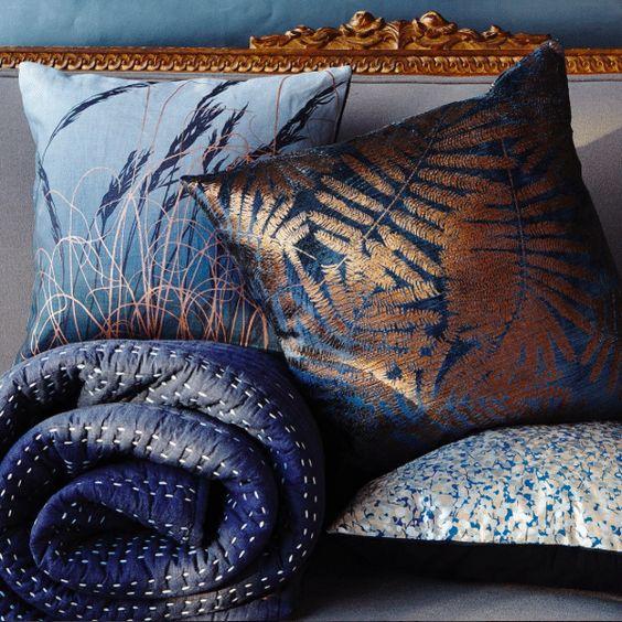 velvet cushions Clarissa Hulse