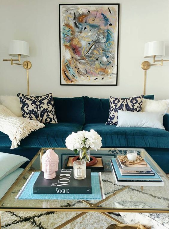 Velvet Sofa Are They Durable Practical And Easy To Clean Decorated Life