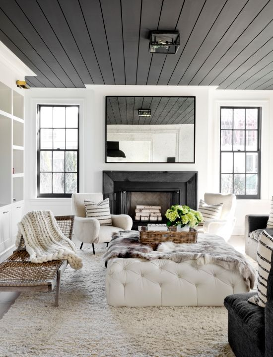Turn an ordinary space into something extraordinary by painting a ceiling in your home in an unexpected color. Here are six ceiling paint colors that we