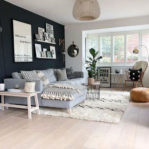How To Decorate Dark Walls Around Light Hardwood Floors