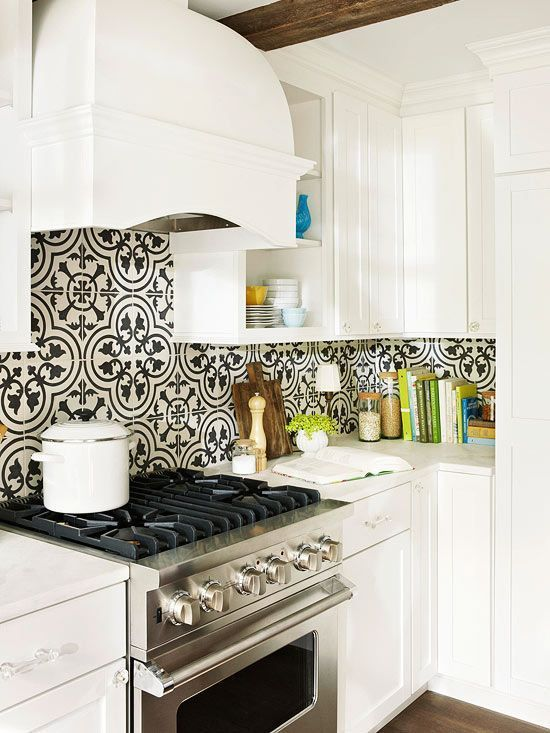 How To Use Kitchen Wallpaper To Update Your Kitchen