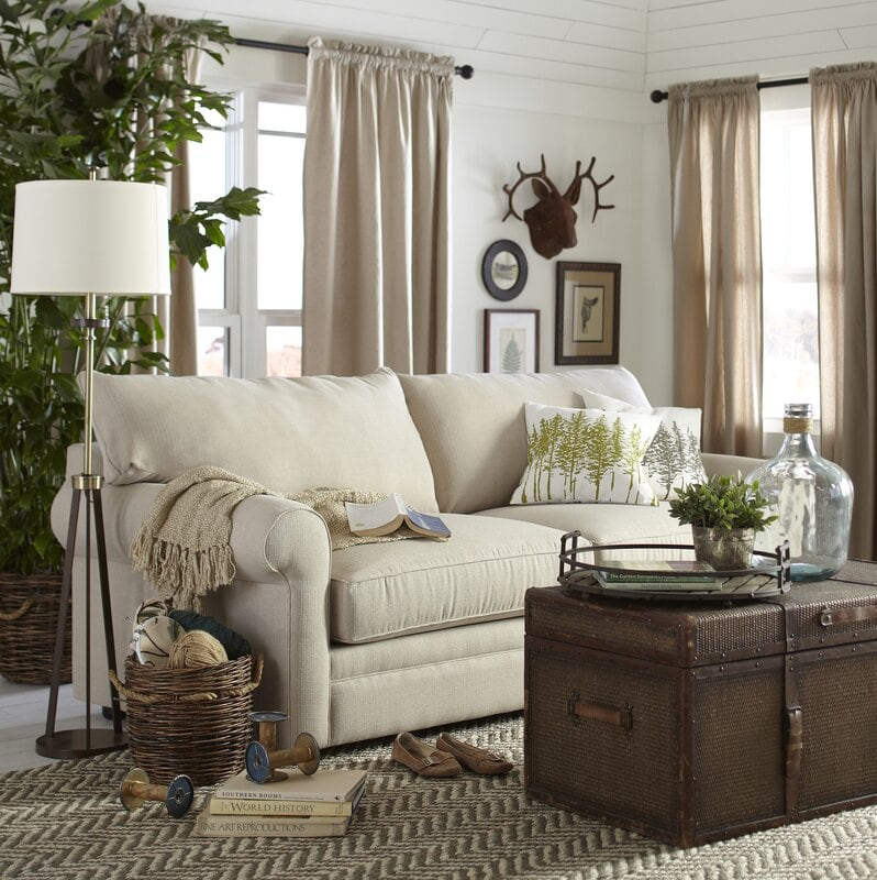 29 Farmhouse Living Room Ideas in 2021 - A Charming Style
