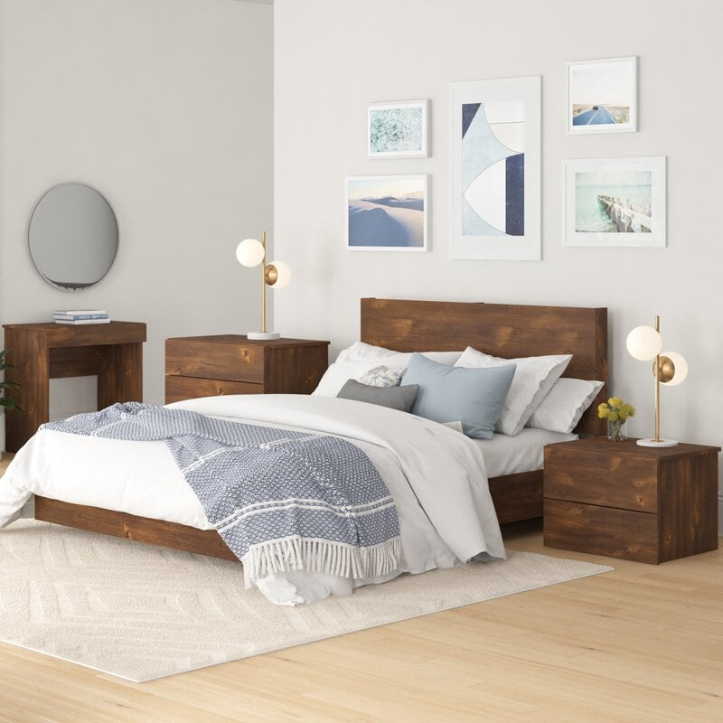 Furnish with Clean Simple Linens