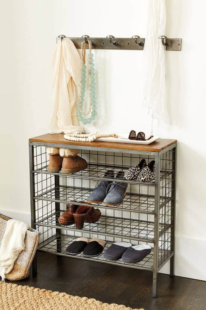 1-Start-with-a-Simple-Metal-Shoe-Rack-682x1024