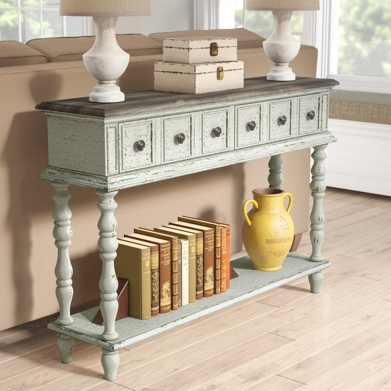 22 Gorgeous Sofa Table Ideas For Your, Cool Sofa Tables