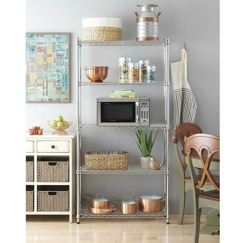 Build Your Own Pantry In The Kitchen