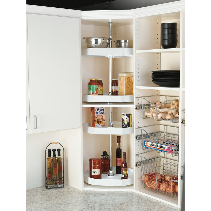 Buy a Lazy Susan For Easier Access