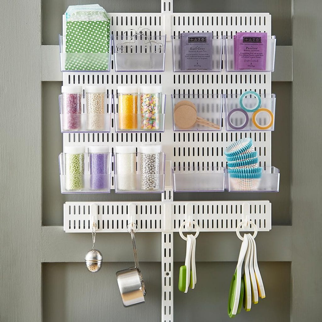 Hang Your Measuring Cups With Your Baking Supplies