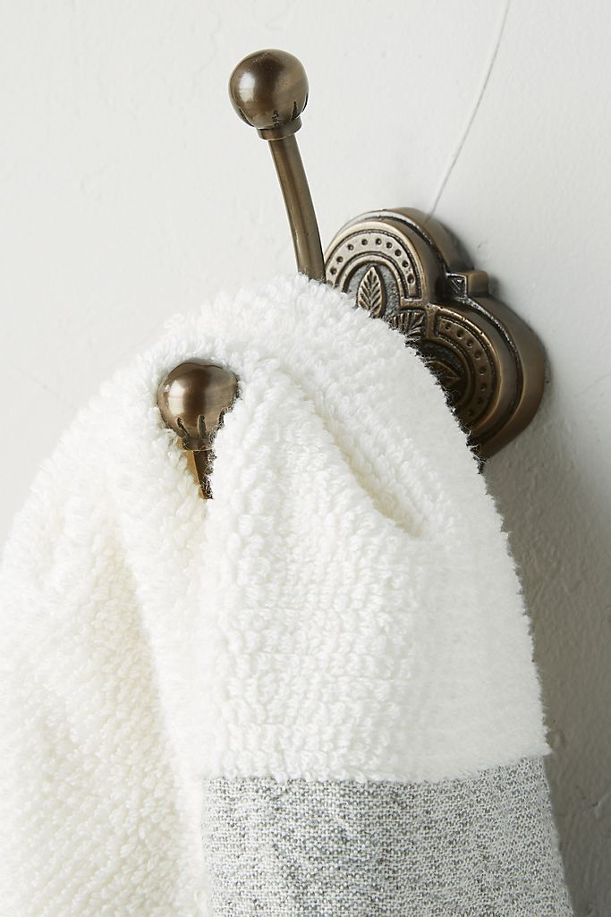 Install Hooks for Aprons & Towels