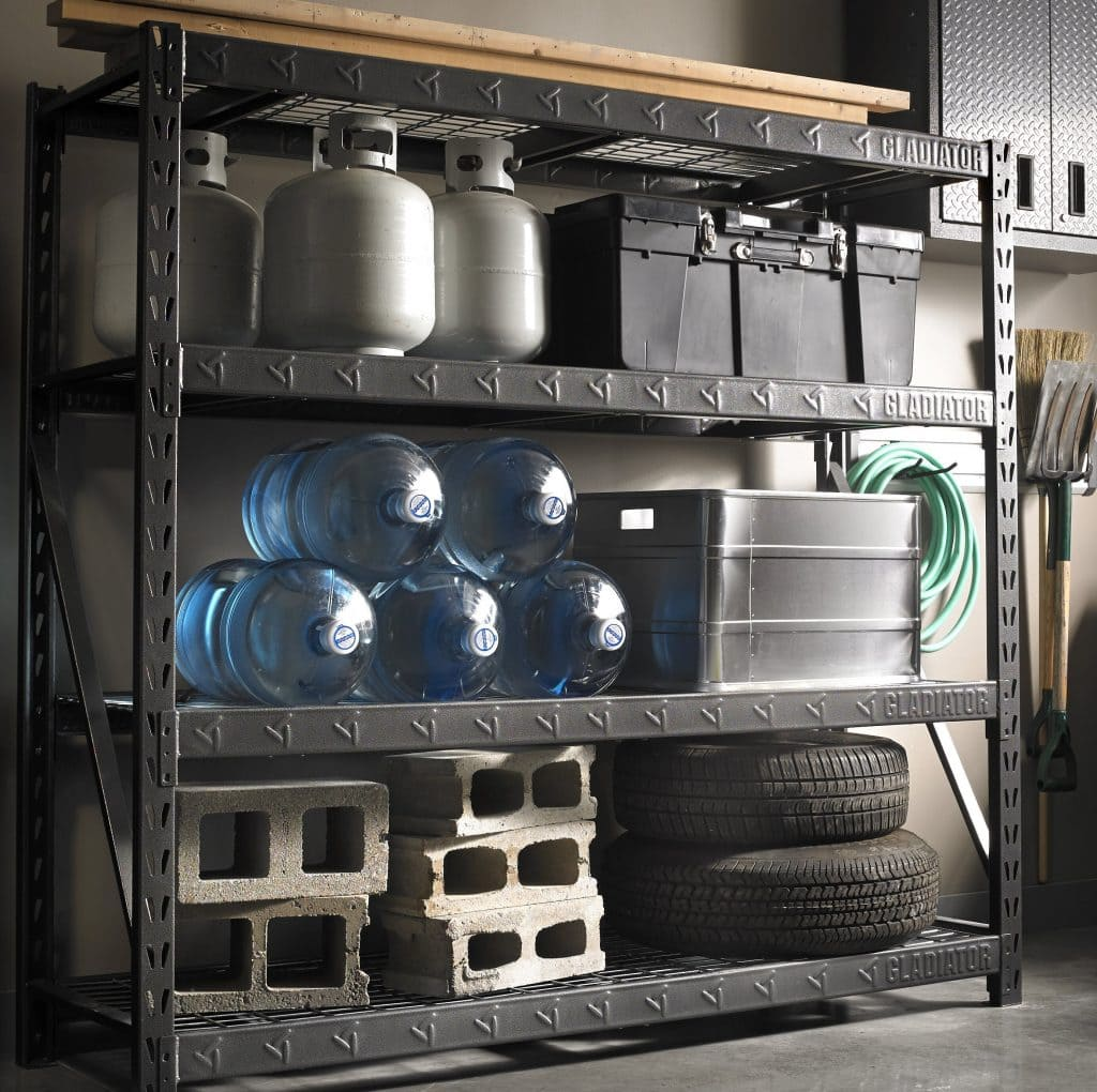 Create an Organized Storage Area