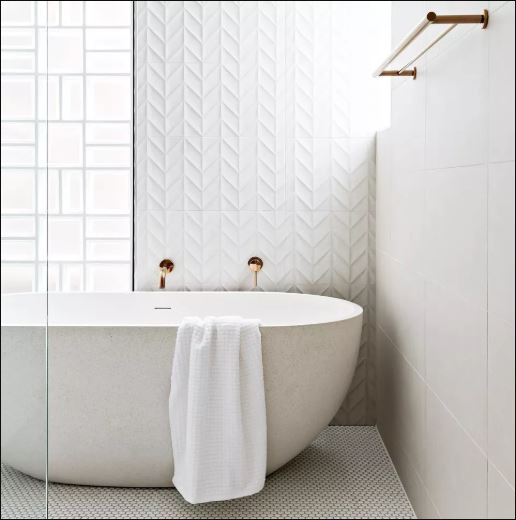 Mix and Match White Tile Patterns