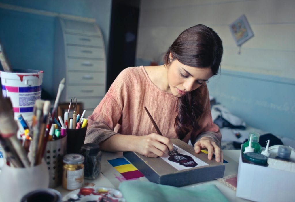 Create an Art Studio for Yourself and Your Kids