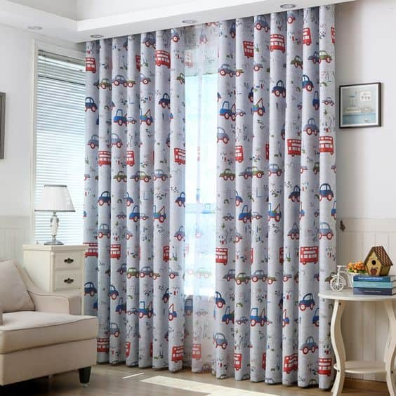 Cartoon Curtains for Your Child's Room