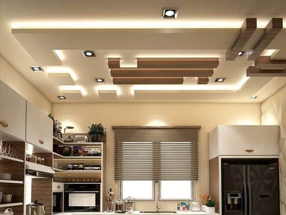 Get a Designer False Ceiling in the Basement