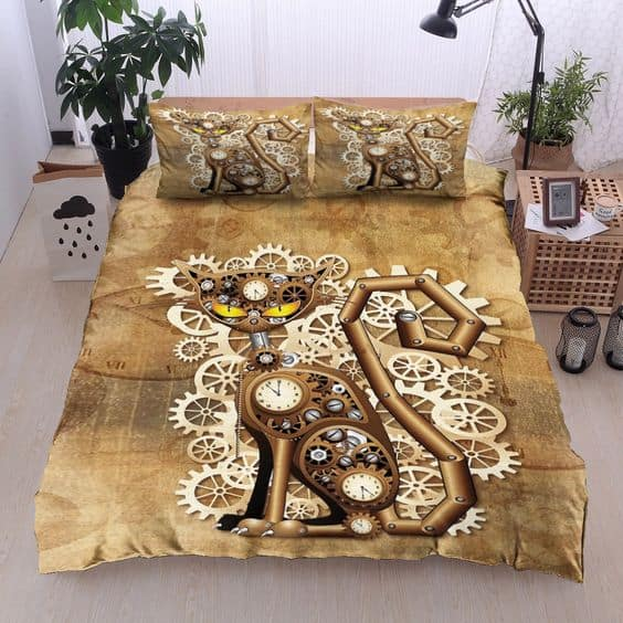 Steampunk Bed Linen