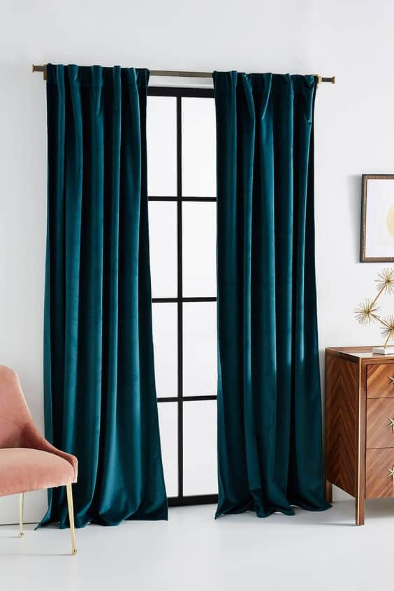Velvet Curtains are the Best in Winter