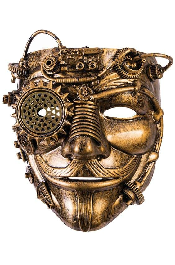 Steampunk Guy Fawkes Mask