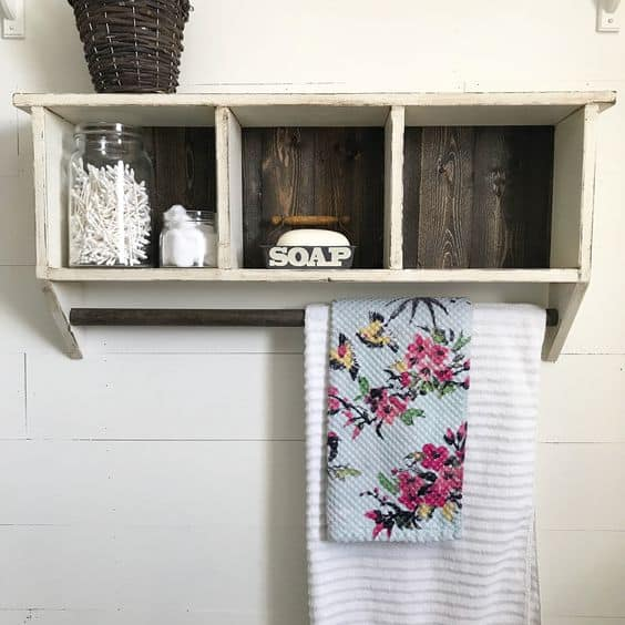 Buy a Distressed Cubby Shelf