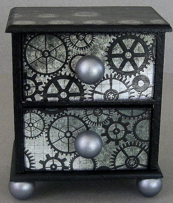 Steampunk Side Tables
